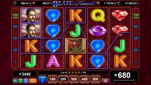 Blue Heart online