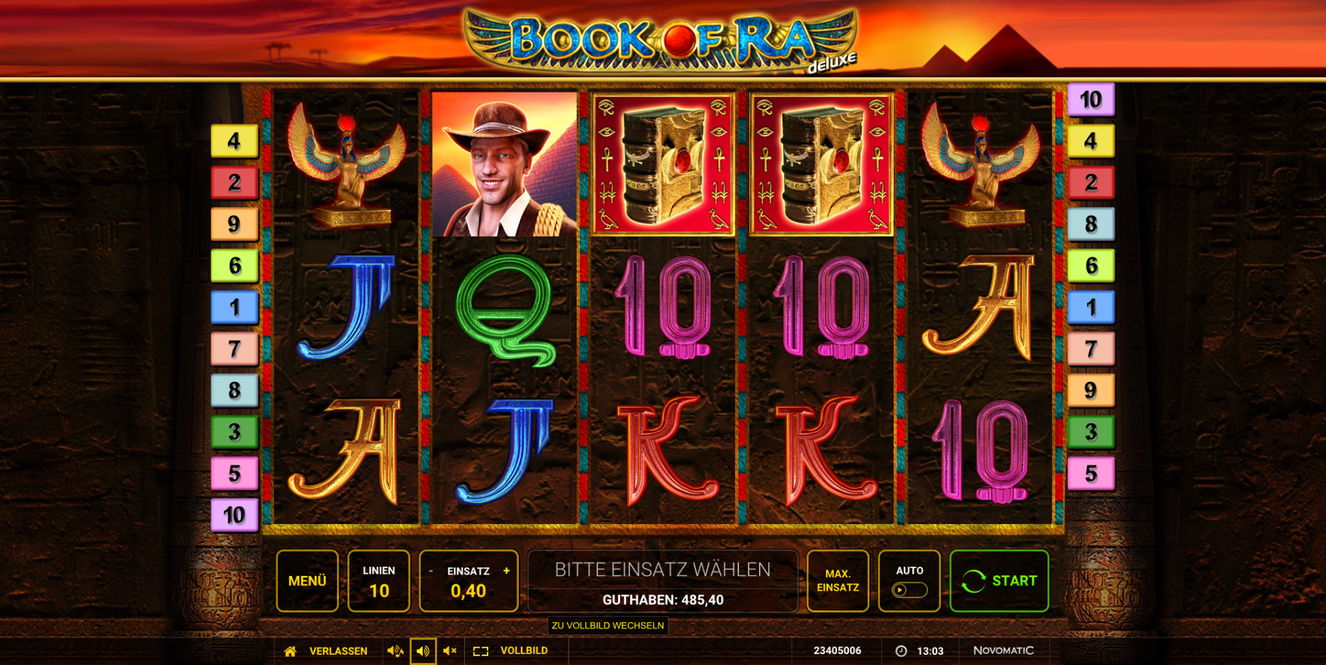 Spiele Ramses Book GDN - Video Slots Online